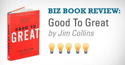 Good to Great, Infinite Communicaitons, Book review, jim collins